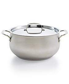 Stainless Steel Sand Blasted 7.5qt Dutch Oven, Created for Macy's