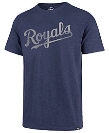 '47 Brand Men's Kansas City Royals Scrum Logo T-Shirt