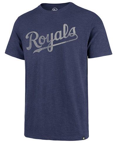 '47 Brand Men's Kansas City Royals Scrum Logo T-Shirt