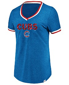 Majestic Women's Chicago Cubs Driven by Results T-Shirt