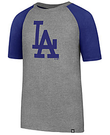 '47 Brand Los Angeles Dodgers Super Rival Raglan T-Shirt, Big Boys (8-20)