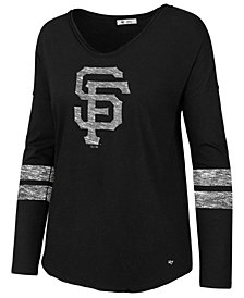 '47 Brand Women's San Francisco Giants Court Side Long Sleeve T-Shirt