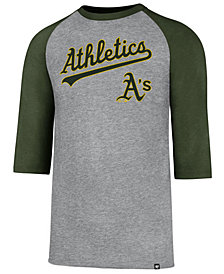 '47 Brand Men's Oakland Athletics Pregame Raglan T-shirt