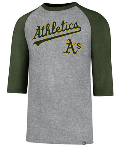 '47 Brand Men's Oakland Athletics Pregame Raglan T-shirt
