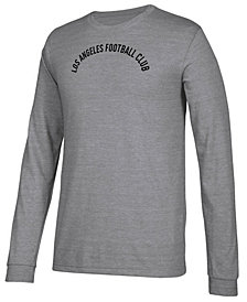 adidas Men's Los Angeles Football Club Arched Long Sleeve T-Shirt