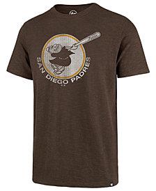 '47 Brand Men's San Diego Padres Scrum Logo T-Shirt