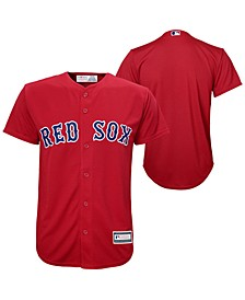 Boston Red Sox Blank Replica Jersey, Big Boys (8-20)