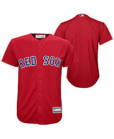 Majestic Boston Red Sox Blank Replica Jersey, Big Boys (8-20)