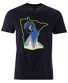 '47 Brand Men's Minnesota Timberwolves Regional Club T-Shirt