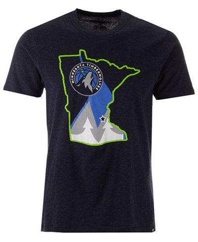 '47 Brand Men's Minnesota Timberwolves Regional Club T-Shirt