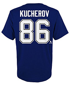 Outerstuff Nikita Kucherov Tampa Bay Lightning Player T-Shirt, Little Boys (4-7)
