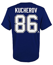 Outerstuff Nikita Kucherov Tampa Bay Lightning Player T-Shirt, Little Boys (4-7)