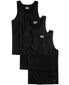 Tommy Hilfiger Men's 3-Pk. Cotton Tank Tops