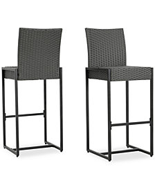 Camden Bar Stool (Set of 2), Quick Ship