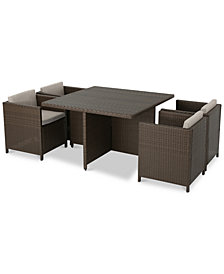 Norton 5-Pc. Dining Set, Quick Ship