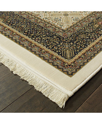 Oriental Weavers Masterpiece Tabriz Ivory 2 3 X 10 Runner Rugs Macy S