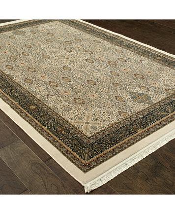 Oriental Weavers Masterpiece Tabriz Ivory 2 3 X 10 Runner Rugs