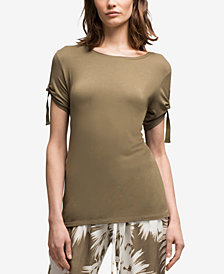 DKNY Slouch-Sleeve Soft Top, Created for Macy's