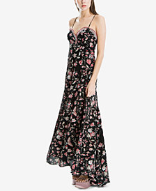 Max Studio London Printed Crepe Maxi Dress, Created for Macy's