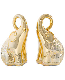 Shiraleah Elephant Book Ends