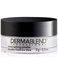 Receive a Free Banana Loose Setting Powder with any Dermablend concealer purchase!