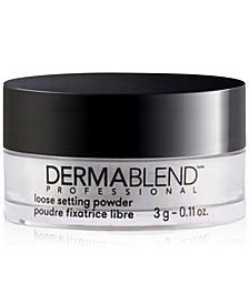 Receive a FREE Mini Loose Setting Powder with $39 Dermablend purchase!