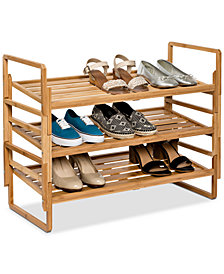 Honey Can Do 3-Tier Nesting Shoe Rack