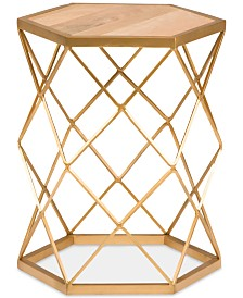 Jennis Accent Table, Quick Ship