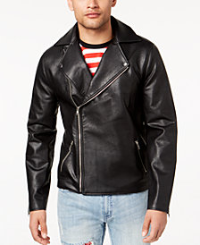 Jaywalker Men's Skull Moto Jacket