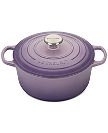 Signature Enameled Cast Iron 4.5 Qt. Round French Oven