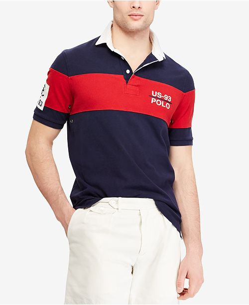 29fd529baccdb Polo Ralph Lauren Men s CP-93 Classic-Fit Rugby Shirt, Created for ...