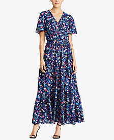 Lauren Ralph Lauren Floral-Print Maxidress, Regular & Petite Sizes