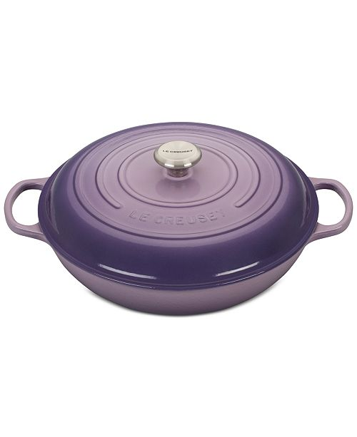 bcf35b7f57e Le Creuset Signature Enameled Cast Iron 5 Qt. Braiser   Reviews ...