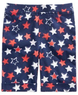 Epic Threads Little Girls StarPrint Bermuda Shorts Created for Macys
