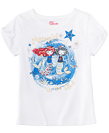 Epic Threads Little Girls Mermaid T-Shirt, Created for Macy's