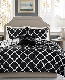Merritt Reversible 4-Pc. Full/Queen Coverlet Set