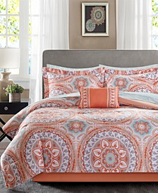 Serenity 7-Pc. Twin Comforter Set
