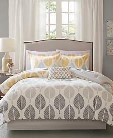 Madison Park Essentials Central Park 7-Pc. Twin Comforter Set
