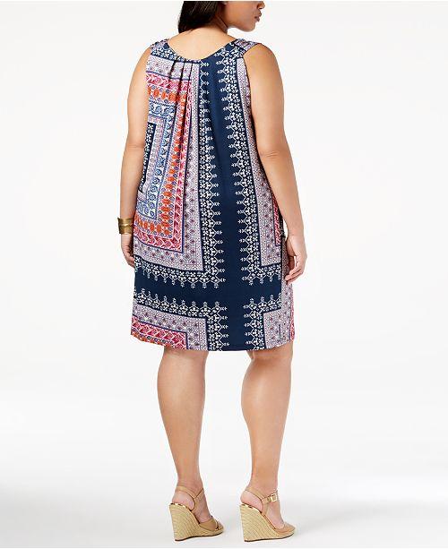 John Paul Richard Plus Size Pleated Dress Dresses Plus Sizes