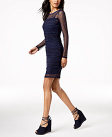 MICHAEL Michael Kors Dot-Lace Dress, Regular & Petite
