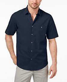 Men's STRETCH Modern Pocket Shirt, Created for Macy's