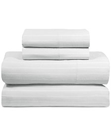 DKNY PURE Comfy Cotton 200-Thread Count 4-Pc. Full Sheet Set