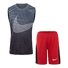 Nike Toddler Boys 2-Pc. Printed Muscle Tank & Shorts Set