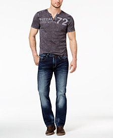 GET THE LOOK: Buffalo David Bitton Relaxed Fit Jeans + Graphic T-Shirt + Clarks Bushacre Chukka Boots