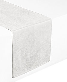 """Waterford Moonscape White 14"""" x 90"""" Table Runner"""