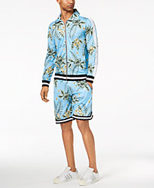 American Stitch Men's Floral-Print Jacket & Shorts Separates