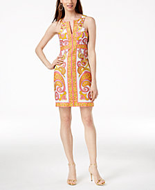 Trina Turk California Cotton Printed Dress