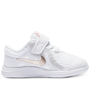 Image 2 of Nike Toddler Girls' Revolution 4 Athletic Sneakers from Finish  Line