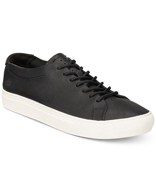f28a46de5cf87 Lacoste Men s L.12.12 Unlined Leather Sneakers   Reviews - All ...