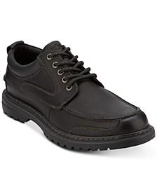 Men's Overton Moc-Toe Leather Oxfords